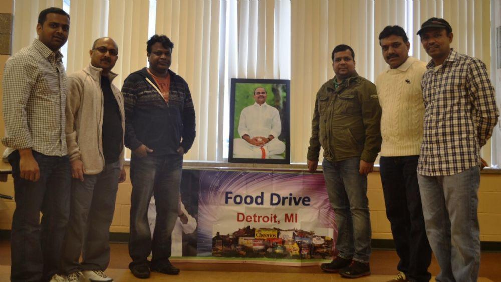 YSR Foundation Organized Food and Clothing Drive ...